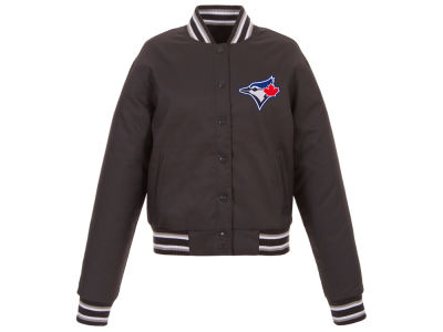 Toronto Blue Jays JH Design MLB Women's Polytwill Jacket