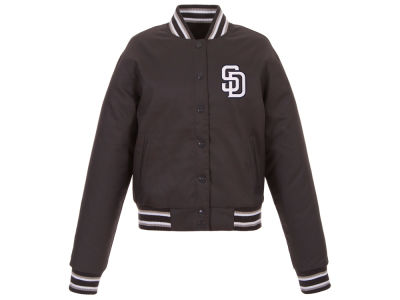 San Diego Padres JH Design MLB Women's Polytwill Jacket