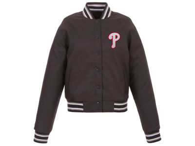 Philadelphia Phillies JH Design MLB Women's Polytwill Jacket