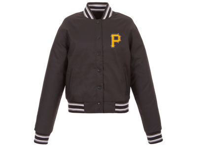 Pittsburgh Pirates JH Design MLB Women's Polytwill Jacket