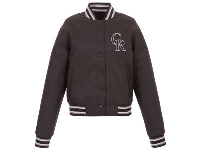 Colorado Rockies JH Design MLB Women's Polytwill Jacket