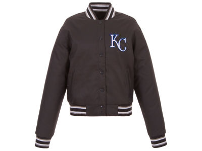Kansas City Royals JH Design MLB Women's Polytwill Jacket