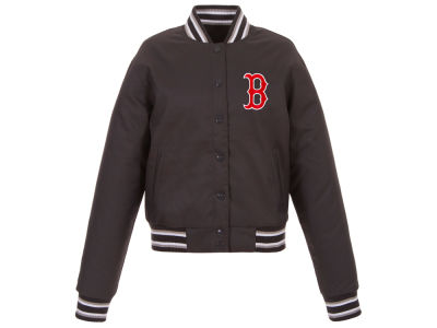 Boston Red Sox JH Design MLB Women's Polytwill Jacket