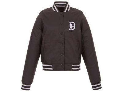 Detroit Tigers JH Design MLB Women's Polytwill Jacket