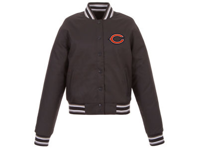 Chicago Bears JH Design NFL Women's Polytwill Jacket