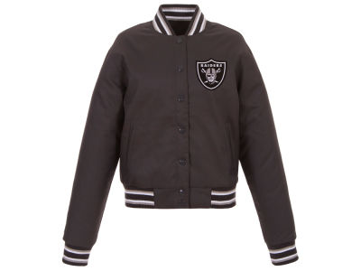 Oakland Raiders JH Design NFL Women's Polytwill Jacket
