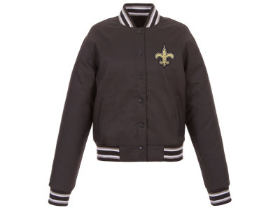 New Orleans Saints JH Design NFL Women's Polytwill Jacket