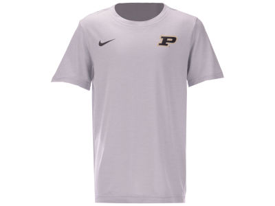 Purdue Boilermakers Nike NCAA Youth Dri-Fit Coaches T-Shirt