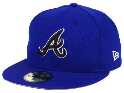 Atlanta Braves New Era MLB Royal Pack 59FIFTY Cap