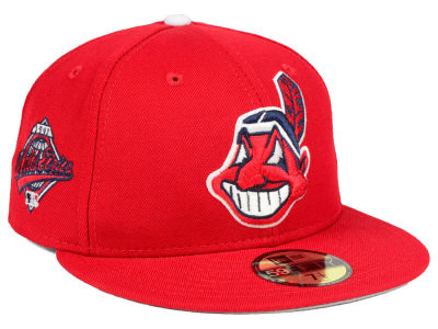 Cleveland Indians New Era MLB Retro World Series Patch 59FIFTY Cap