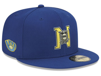 Milwaukee Brewers New Era MLB League Front 59FIFTY Cap