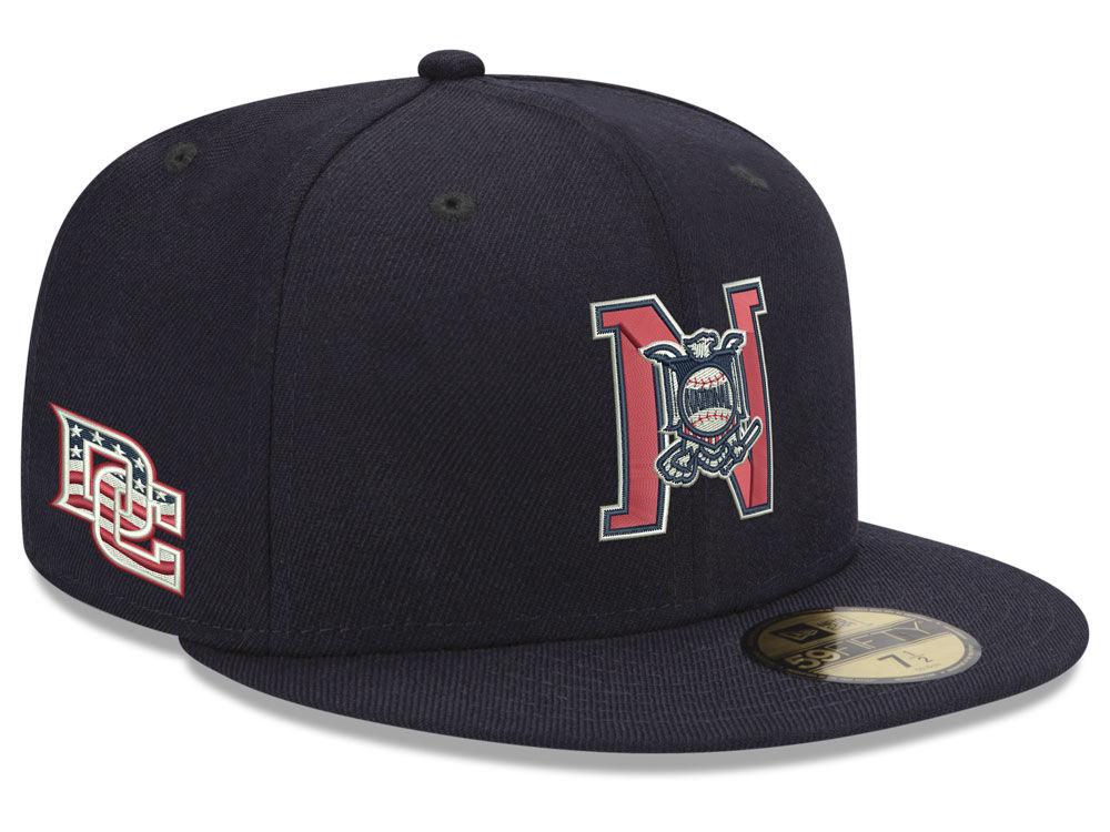 Washington Nationals New Era MLB League Front 59FIFTY Cap  4d6a442d6
