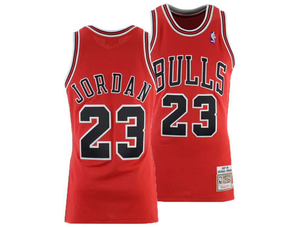 Chicago Bulls Michael Jordan Mitchell   Ness NBA Authentic Jersey. Top.  Chicago ... b7e866604