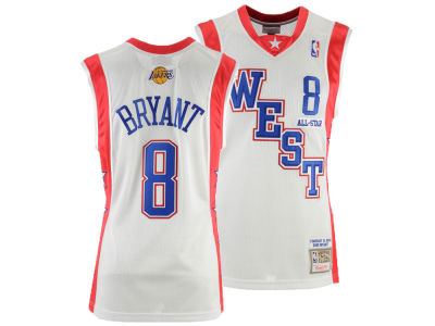 2190d962b NBA All Star Kobe Bryant Mitchell   Ness 2004 NBA Men s Swingman Jersey