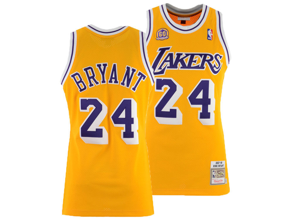 Los Angeles Lakers Kobe Bryant Mitchell   Ness NBA Authentic Jersey. Top.  Los ... 593915edb