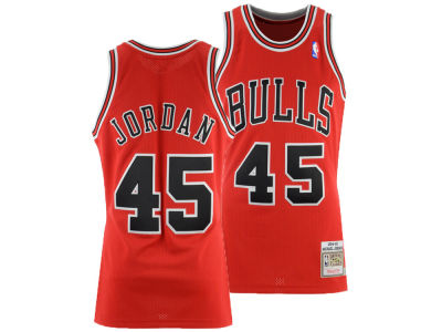 Chicago Bulls Michael Jordan Mitchell & Ness NBA Authentic Jersey