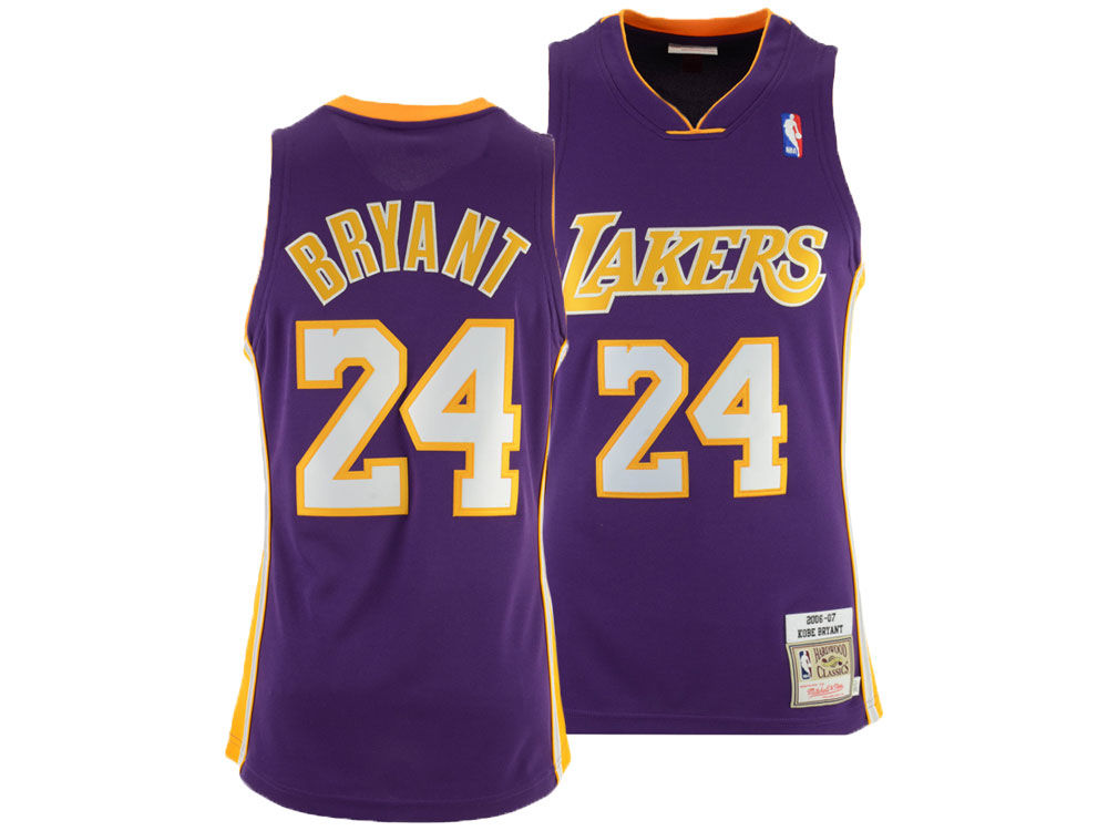 Los Angeles Lakers Kobe Bryant Mitchell   Ness NBA Authentic Jersey. Top.  Los ... e04887584