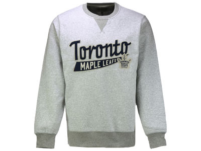 Toronto Maple Leafs adidas NHL Men's Finished Fleece Crew