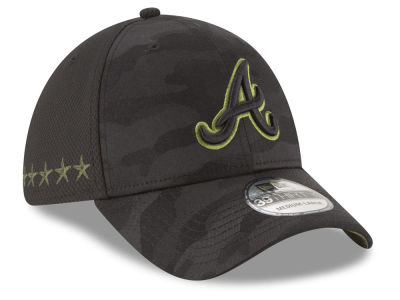 Atlanta Braves New Era 2018 MLB Memorial Day 39THIRTY Cap