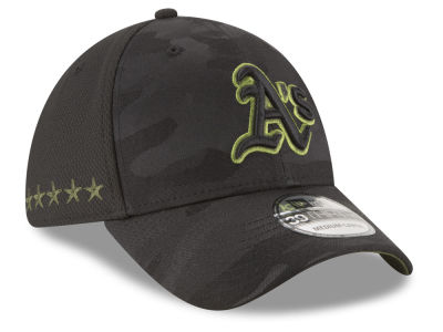 Oakland Athletics New Era 2018 MLB Memorial Day 39THIRTY Cap