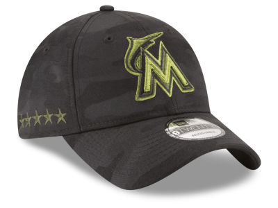 Miami Marlins New Era 2018 MLB Memorial Day 9TWENTY Cap