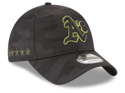 Oakland Athletics New Era 2018 MLB Memorial Day 9TWENTY Cap