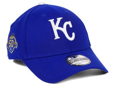 Kansas City Royals New Era MLB Team Classic 50th Anniversary 39THIRTY Cap