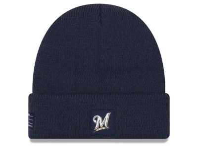 Milwaukee Brewers New Era 2018 MLB Sport Knit