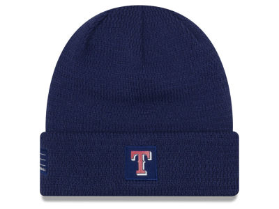 Texas Rangers New Era 2018 MLB Sport Knit