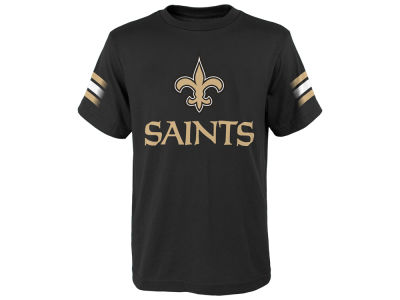 New Orleans Saints Outerstuff NFL Youth Goal Line T-Shirt