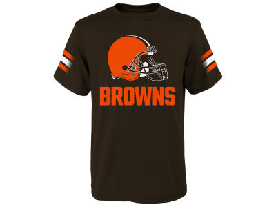 Cleveland Browns Outerstuff NFL Youth Goal Line T-Shirt