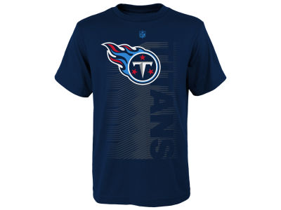 Tennessee Titans Outerstuff NFL Youth Poly Jump Speed T-Shirt