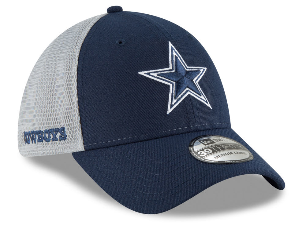 cec1d1b85 Dallas Cowboys New Era NFL 2-Tone Sided 39THIRTY Cap