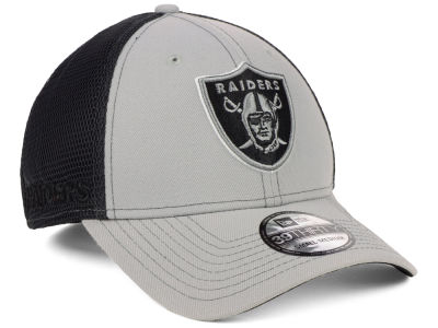 f29df9ff0e0 Oakland Raiders New Era NFL 2-Tone Sided 39THIRTY Cap