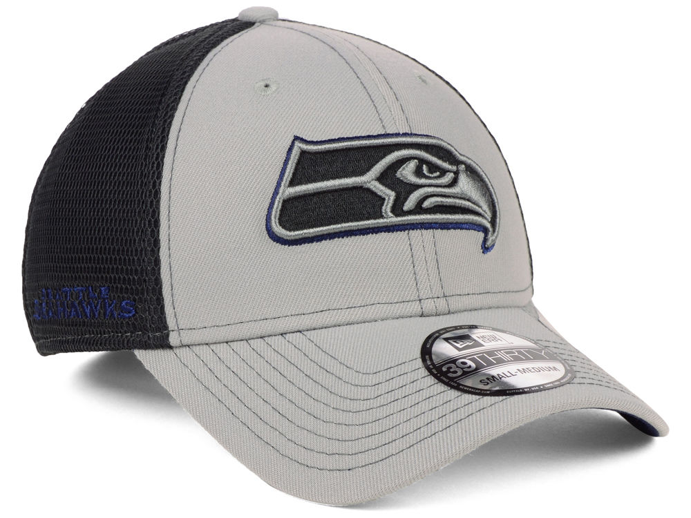619b73b85 Seattle Seahawks New Era NFL 2-Tone Sided 39THIRTY Cap