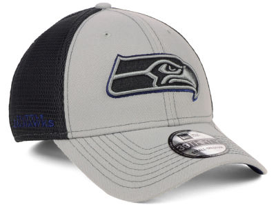 Seattle Seahawks New Era NFL 2-Tone Sided 39THIRTY Cap 512aa3b77