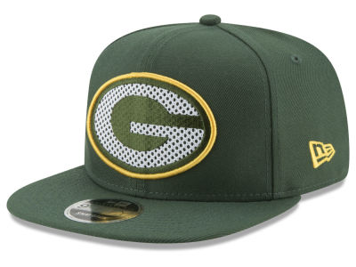 Green Bay Packers New Era NFL Meshed Mix 9FIFTY Snapback Cap