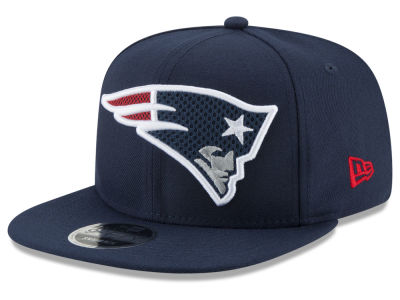 New England Patriots New Era NFL Meshed Mix 9FIFTY Snapback Cap