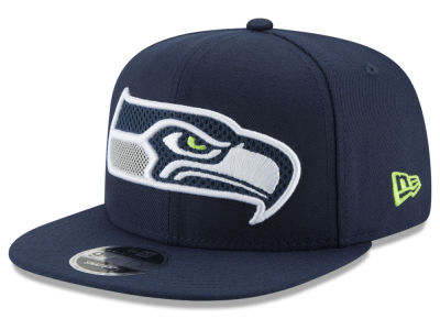 Seattle Seahawks New Era NFL Meshed Mix 9FIFTY Snapback Cap