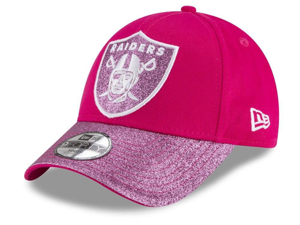 ... pink slouch basic adjustable hat c7e48 42804  greece oakland raiders  new era nfl girls shimmer shine adjustable cap efdbb 69b20 7ed2f71dbb18