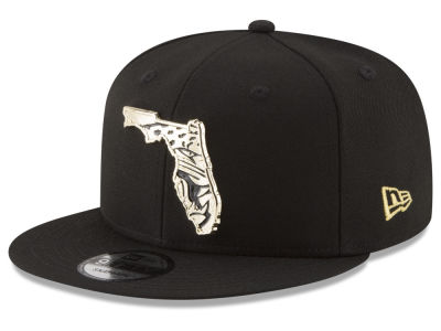 Jacksonville Jaguars New Era NFL Gold Stated 9FIFTY Snapback Cap