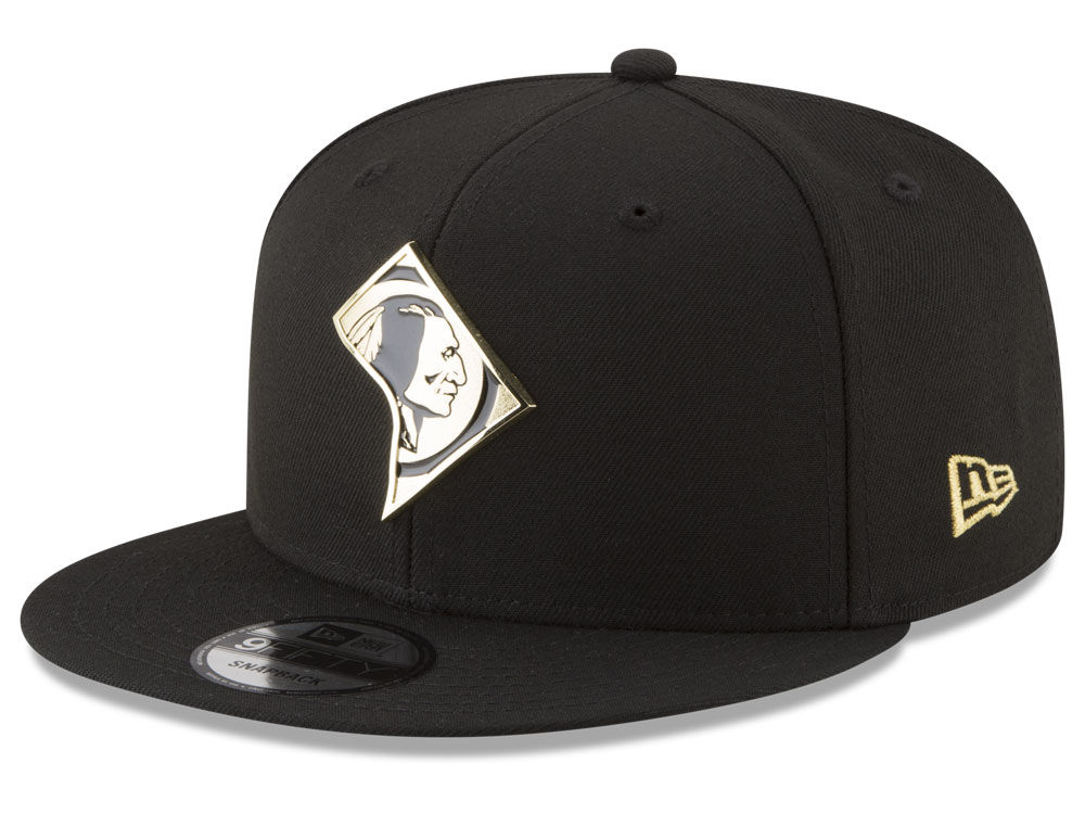 5a55ab873d9 Washington Redskins New Era NFL Gold Stated 9FIFTY Snapback Cap ...