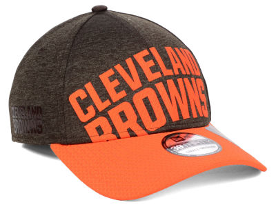the latest 3a5eb b4061 ... amazon cleveland browns new era nfl over sized laser cut logo 39thirty  cap f9340 7e089