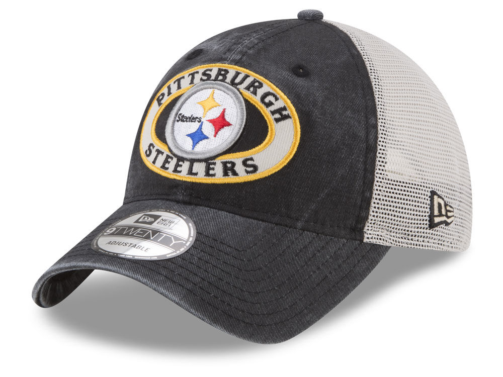 Pittsburgh Steelers New Era NFL Patched Pride 9TWENTY Cap  c0003f446