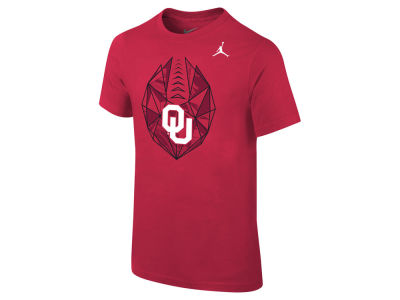 Oklahoma Sooners Jordan NCAA Kids Football Icon T-Shirt