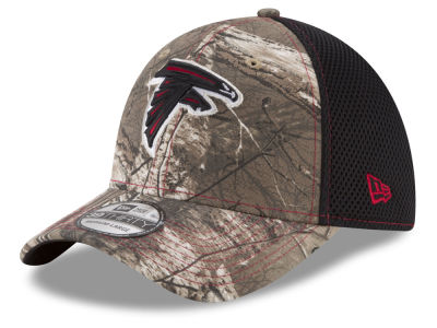 Atlanta Falcons New Era NFL Realtree Camo Team Color Neo 39THIRTY Cap