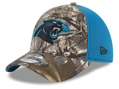 513a1fd90de Carolina Panthers New Era NFL Realtree Camo Team Color Neo 39THIRTY Cap