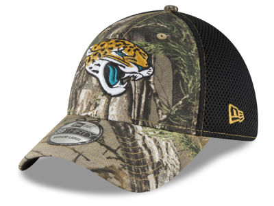 Jacksonville Jaguars New Era NFL Realtree Camo Team Color Neo 39THIRTY Cap