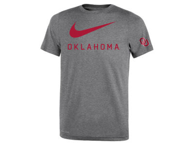 Oklahoma Sooners Nike NCAA Youth Legend DNA T-Shirt