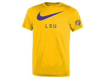 LSU Tigers Nike NCAA Youth Legend DNA T-Shirt